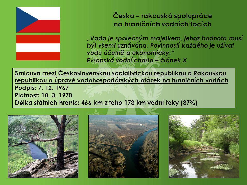 """Národní Park Podyjí Soutok řeky Moravy a Dyje Vodní tok Pstruhovec """"Voda je společným majetkem, jehož hodnota musí být všemi uznávána. Povinností každ"""