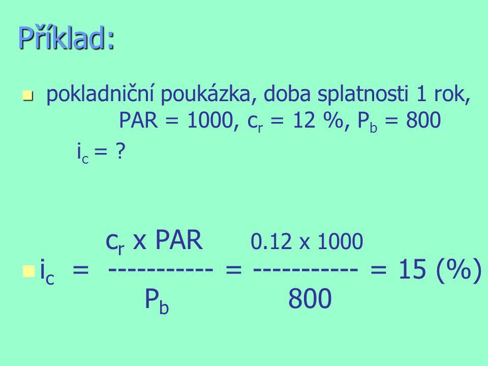Budoucí hodnota vkladu n n CZK 1000, úrok 7 % p.a.
