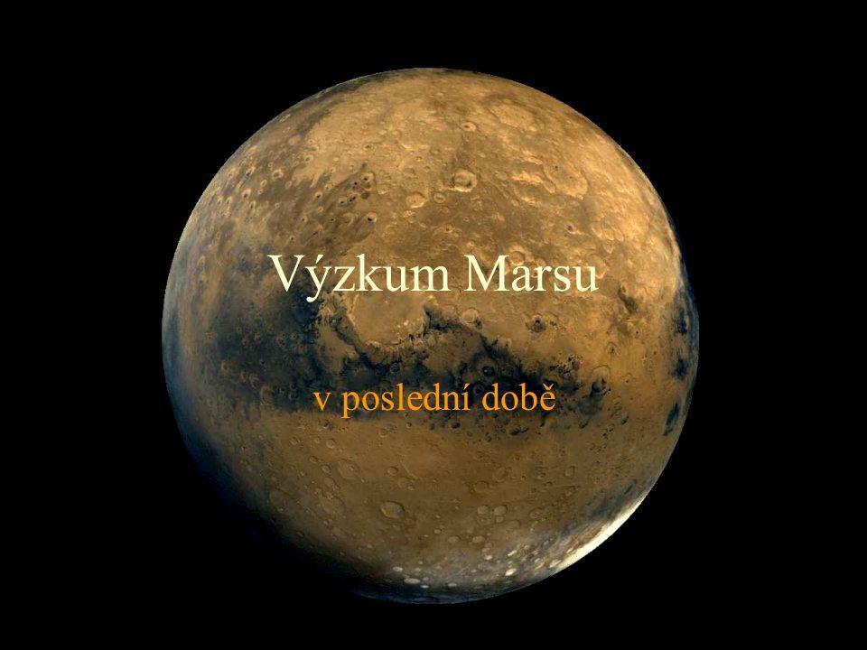 Výzkum Marsu v poslední době