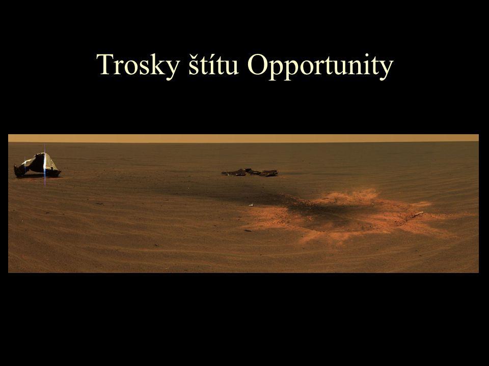 Trosky štítu Opportunity