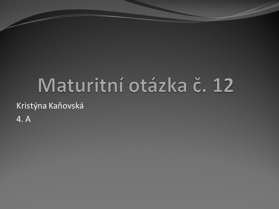 Kristýna Kaňovská 4. A