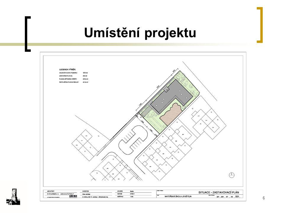 6 Umístění projektu