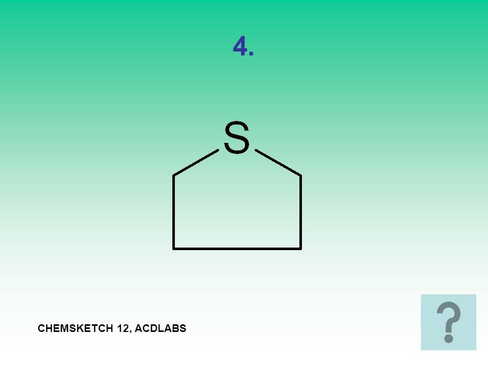 5. CHEMSKETCH 12, ACDLABS