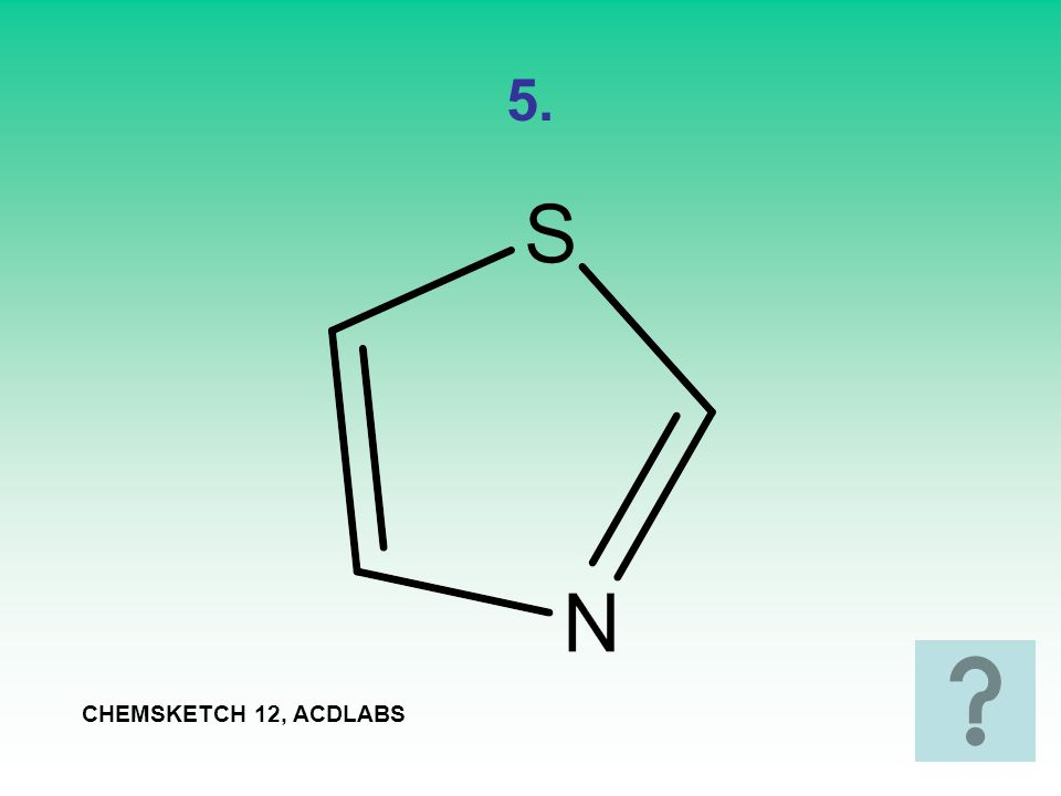 6. CHEMSKETCH 12, ACDLABS