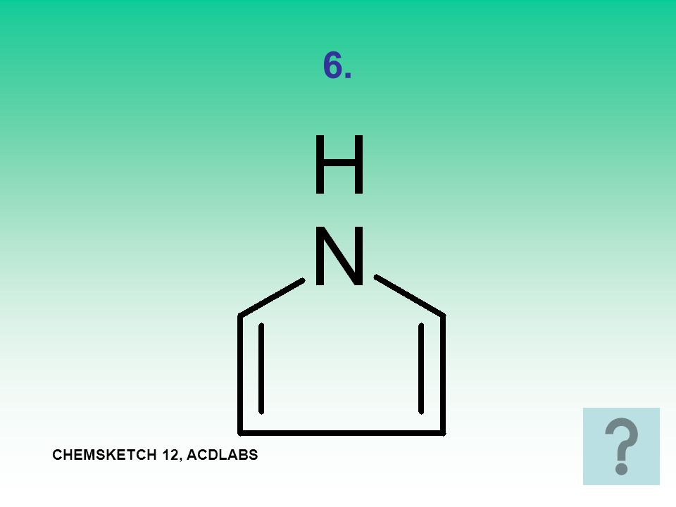 7. CHEMSKETCH 12, ACDLABS