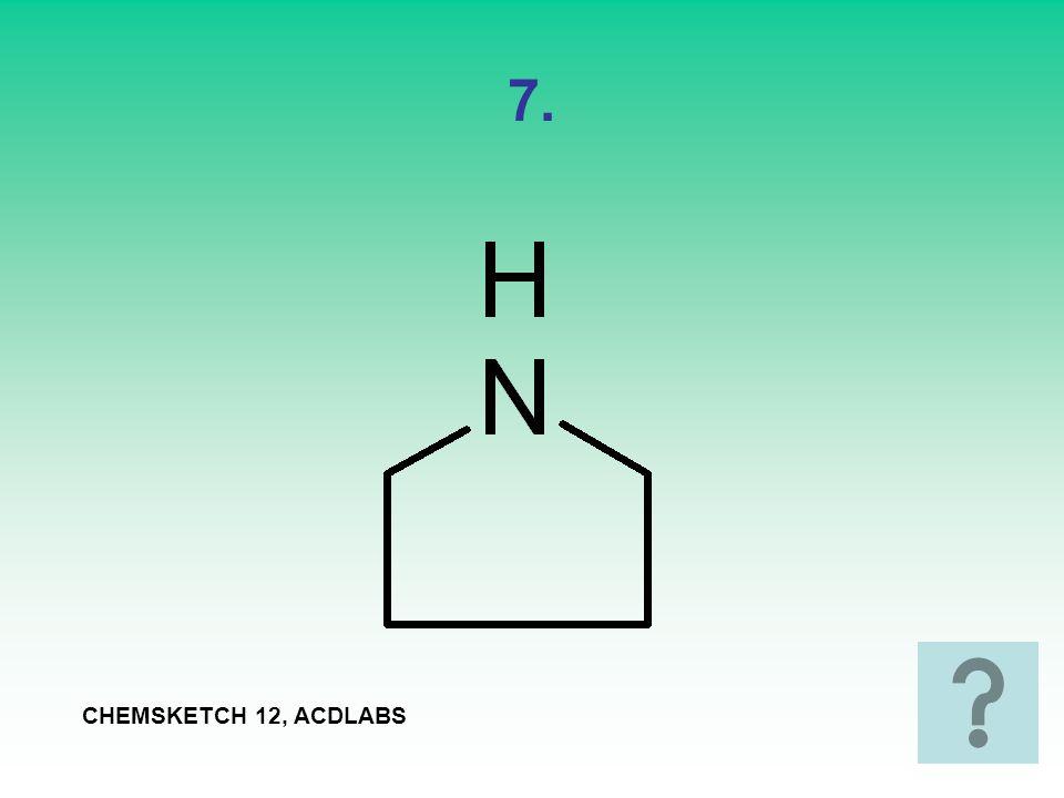 8. CHEMSKETCH 12, ACDLABS