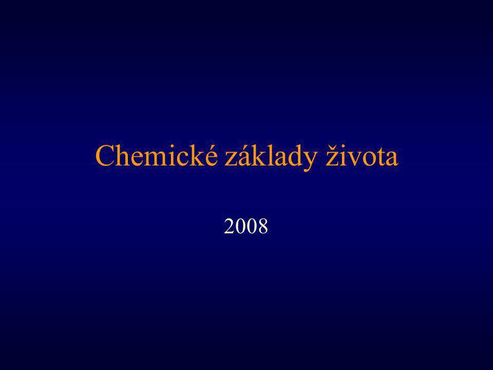 Chemické základy života 2008