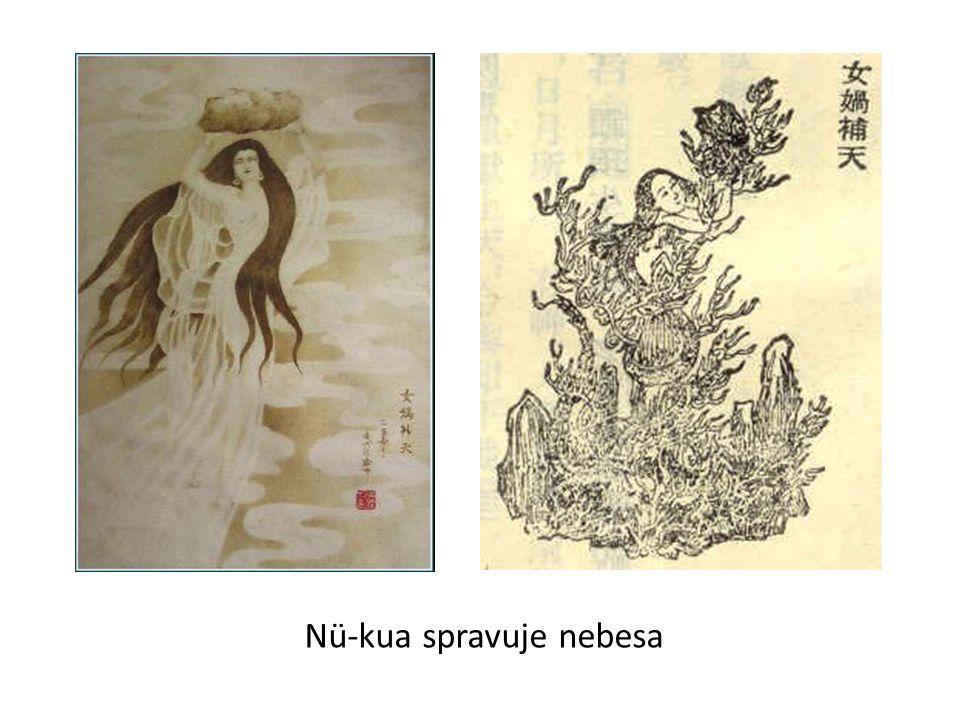 Nü-kua spravuje nebesa