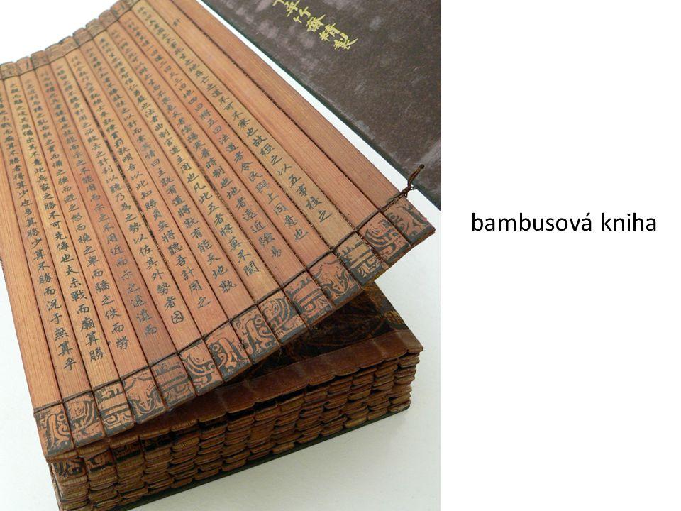 bambusová kniha