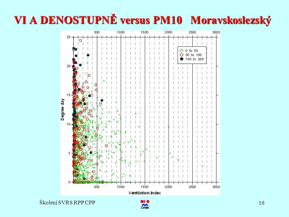 Školení SVRS RPP CPP 16 VI A DENOSTUPNĚ versus PM10 Moravskoslezský