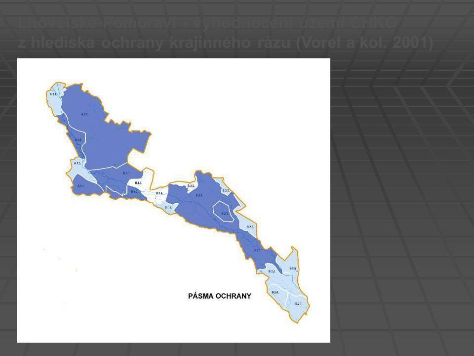 Litovelské Pomoraví - vyhodnocení území CHKO z hlediska ochrany krajinného rázu (Vorel a kol. 2001)