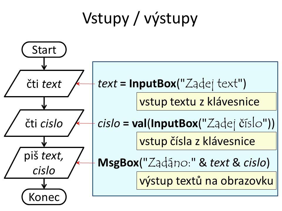Start text = InputBox(