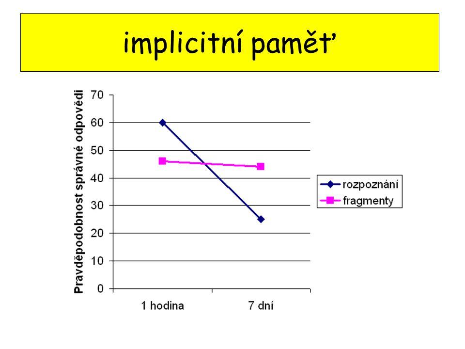 implicitní paměť