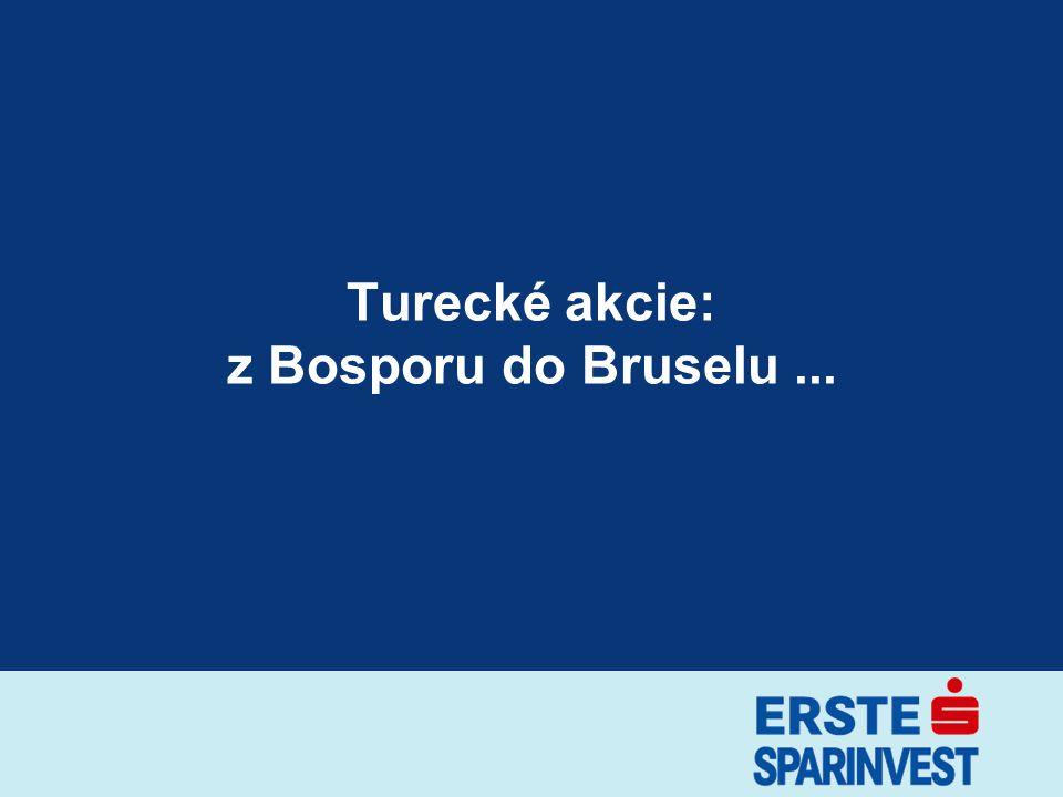 12 zTržní kapitalizace: 125,4 mld EUR (Index Istanbul 100) zNejvětší podniky –Isbank: 13,1 mld EUR –Akbank: 12,2 mld EUR –Turkcell: 9,8 mld EUR –Garanti Bank: 6,5 mld EUR –Sabanci Holding: 6,9 mld EUR zPrůměrný denní obrat –2002/01-12: 281 mil US$ –2003/01-12: 407 mil US$ –2004/01-12: 593 mil US$ –2005/01-12: 794 mil US$ Akciový trh Tržní ukazatele datum: 29.3.2006