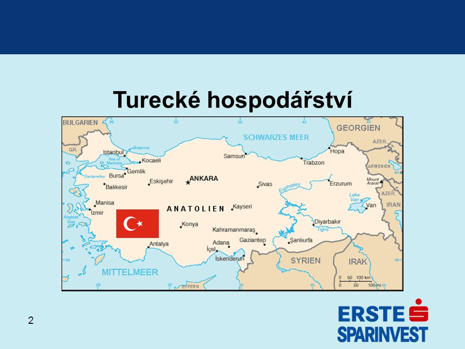 13 Akciový trh Struktura trhu podle odvětví (Index Istanbul 100)