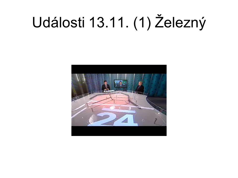Události 13.11. (1) Železný