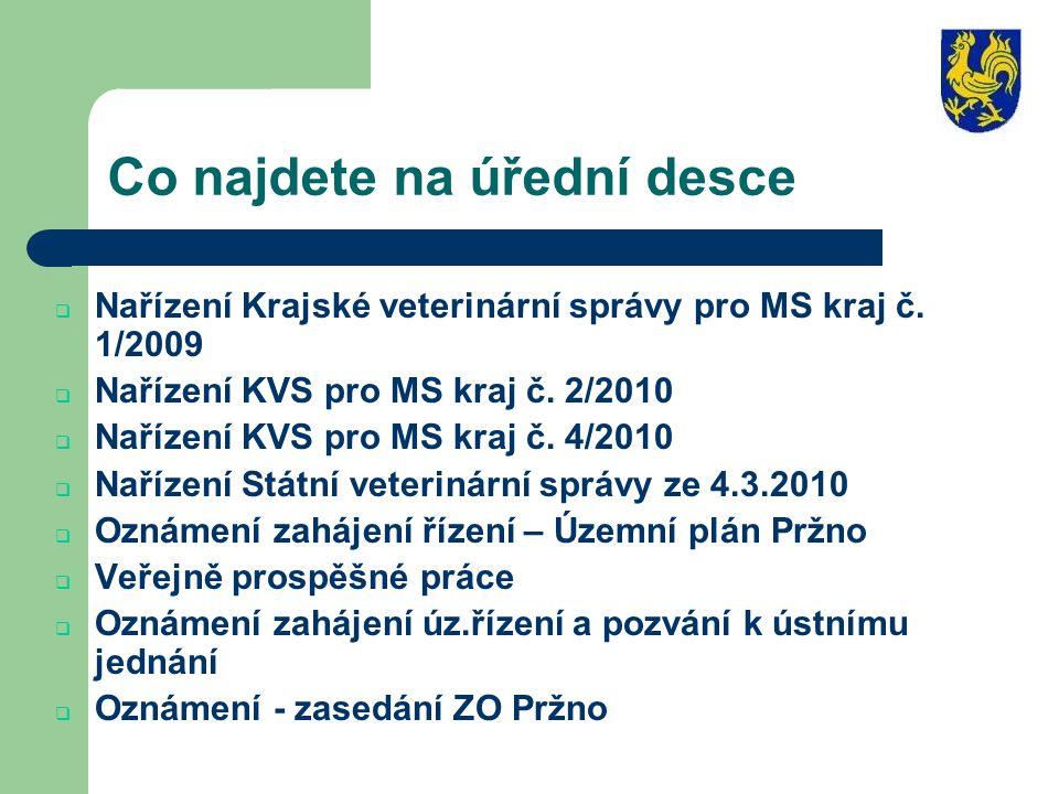 Oznámení - zasedání ZO Pržno Svolávám veřejné zasedání Zastupitelstva obce Pržno, ve středu 15.