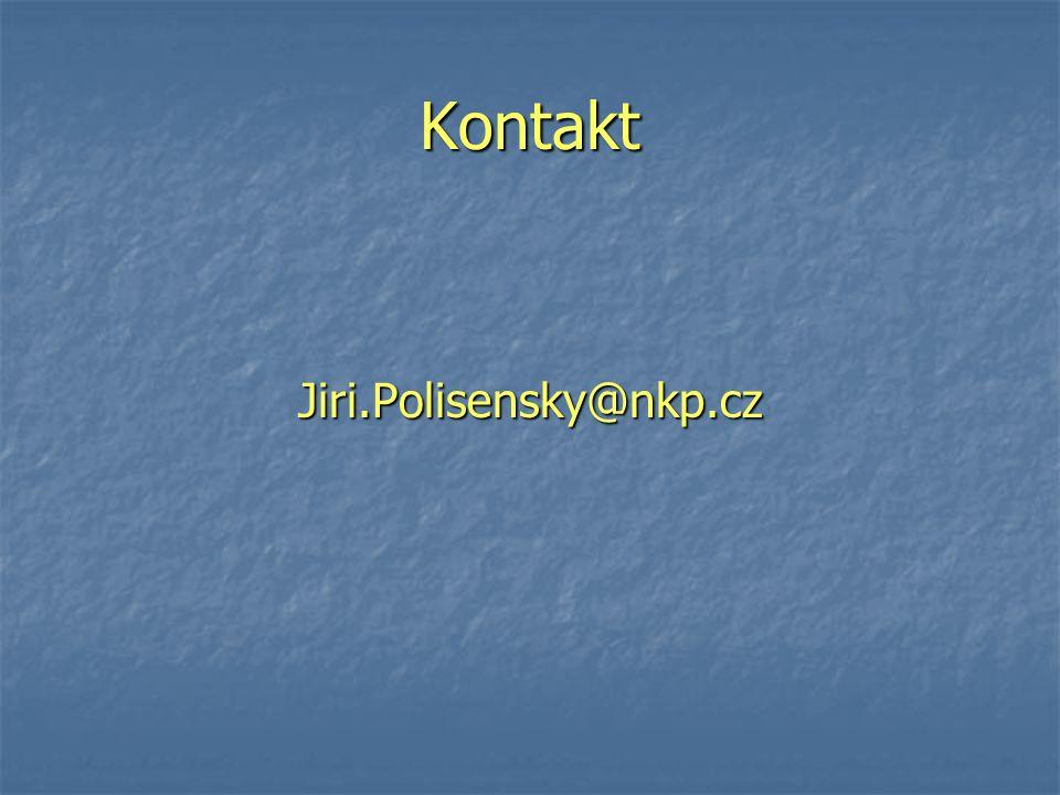 Kontakt Jiri.Polisensky@nkp.cz