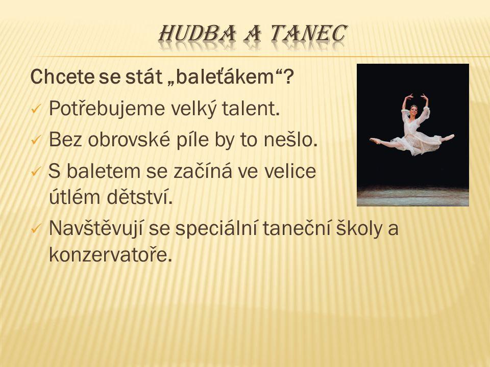 Čeští představitelé baletu Jiří Kylián Jiří Kylián (1947) Vlastimil Harapes (1946)