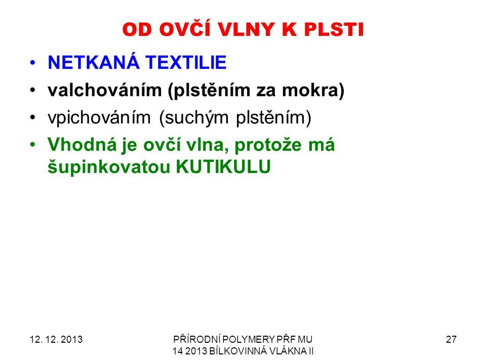 OD OVČÍ VLNY K PLSTI 12.12.