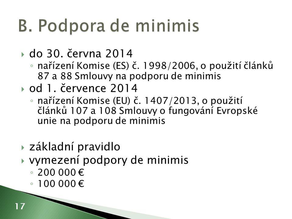  do 30. června 2014 ◦ nařízení Komise (ES) č.