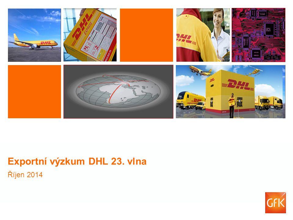 Exportní výzkum DHL 23. vlna Říjen 2014