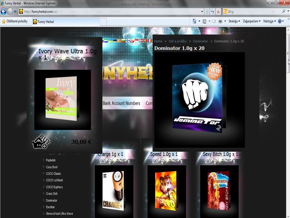 5) Ukázky z praxe 4/12/2008 funnyherbal.com – neznámý obsah