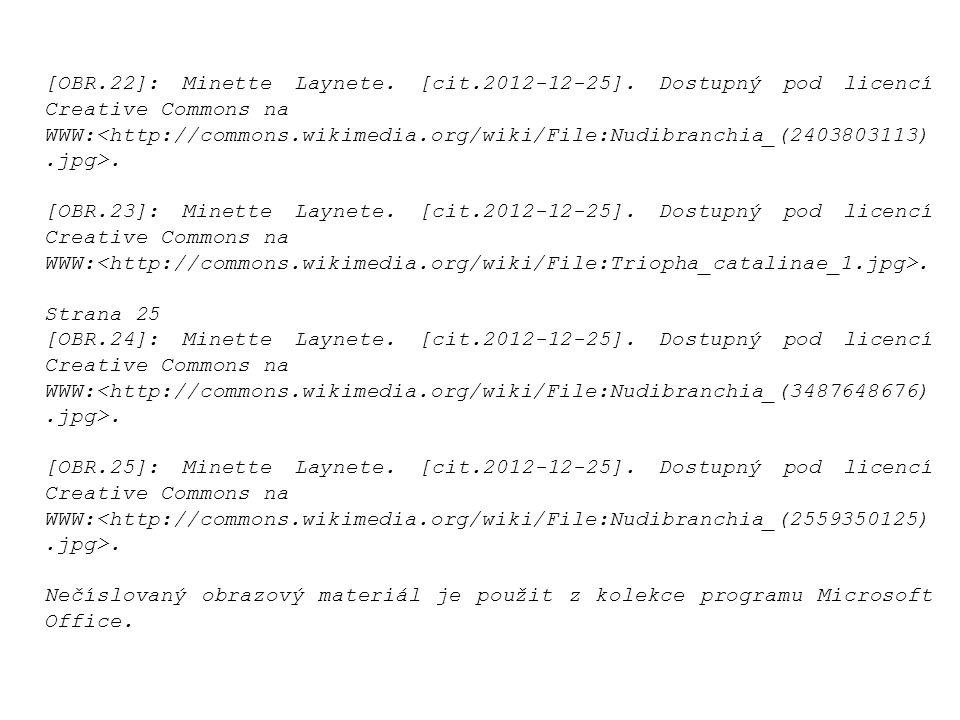 [OBR.22]: Minette Laynete.[cit.2012-12-25]. Dostupný pod licencí Creative Commons na WWW:.