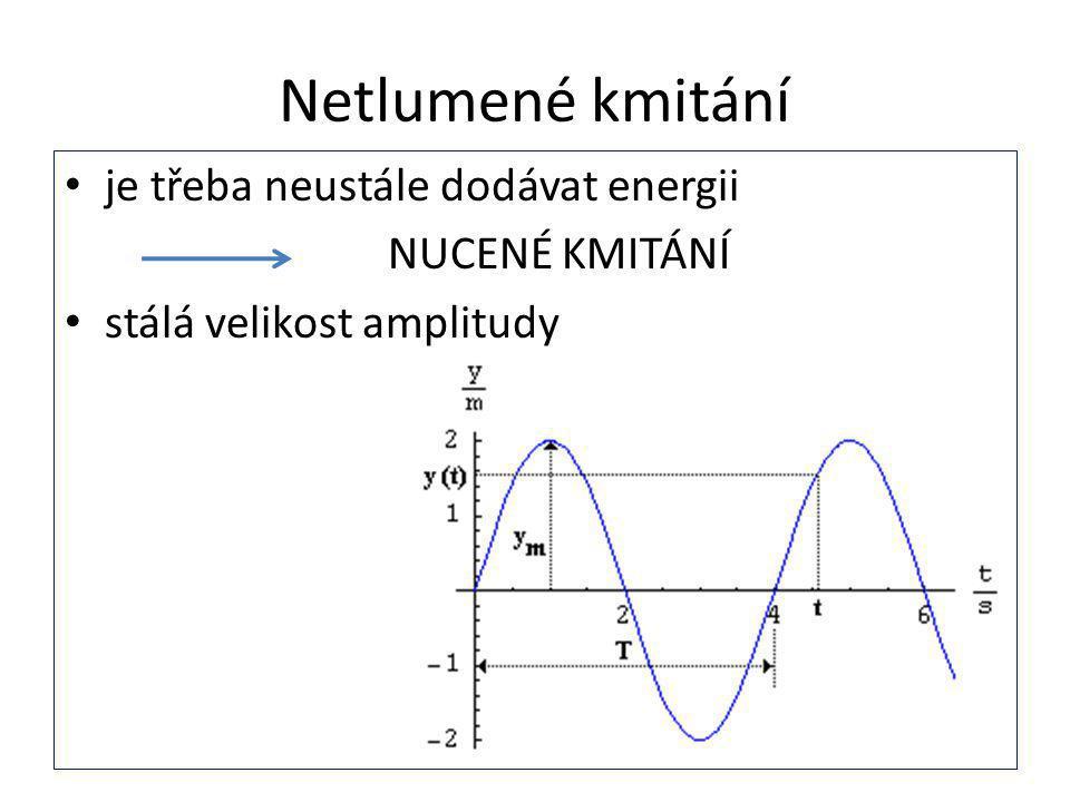 ZAJÍMAVOST - rezonance Rezonance je zjednodušeně rozkmitání tělesa Například závažné rozkmitání budov a mostů, které je způsobeno větry nebo zemětřesením Video k vysvětlení pojmu na: http://www.techmania.cz/edutorium/art_expon aty.php?xkat=fyzika&xser=416b757374696b6 1h&key=645 Využití rezonance - rezonance u hudebních nástrojů