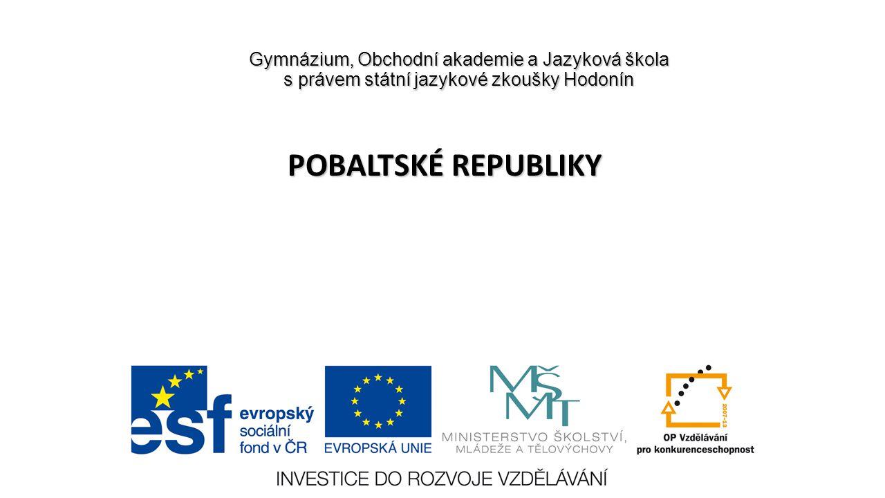 Číslo projektu CZ.1.07/1.5.00/34.0266 Číslo materiálu VY_32_INOVACE_KvK_ HOZ _2E_11 Autor Mgr.