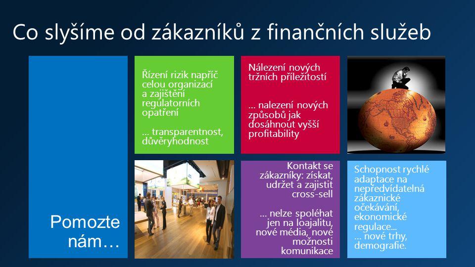 Strategie Microsoftu Aplikační platforma Microsoft Dynamics Priority Cloud a Mobilní zařízení Microsoft Consulting Services Solution Partneři Aliance s partnery v zákaznickém segmentu (mobilní operátoři, dodovatelé hardwaru)