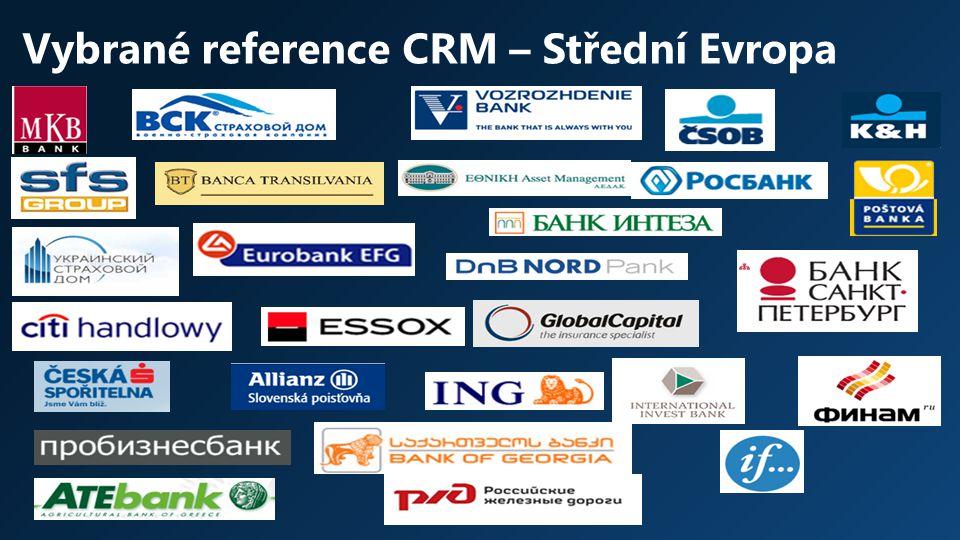 Vybrané reference CRM – Střední Evropa