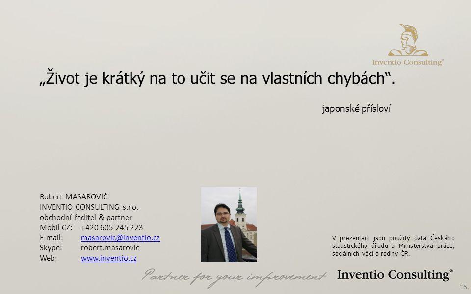 15. Robert MASAROVIČ INVENTIO CONSULTING s.r.o.