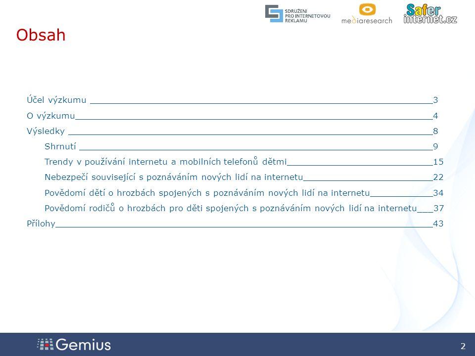 33 33 Zdroj: gemiusAdHoc, leden 2009 Zdálo se vám chování osoby, kterou js te poznal i na internetu, během skutečné schůzky neobvyklé.