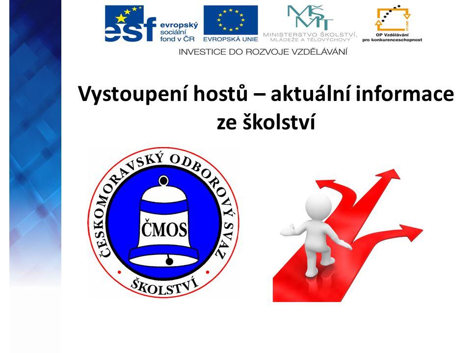 Seznámení se s projektem Vzdělávání pedagogů napříč MSK Reg.