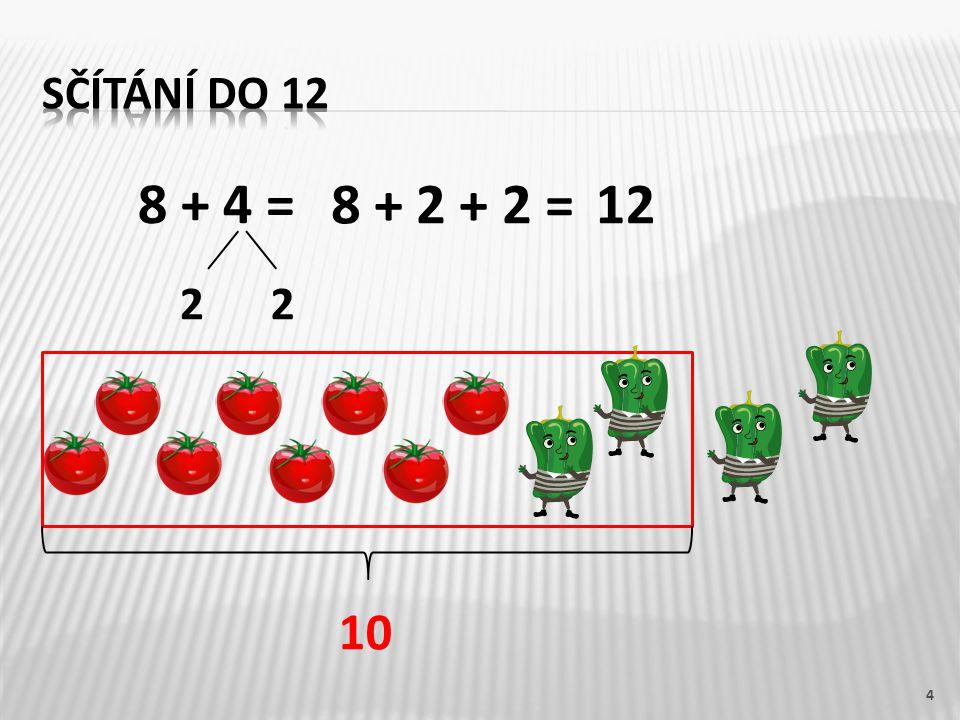 8 + 4 = 4 22 8 + 2 + 2 =12 10