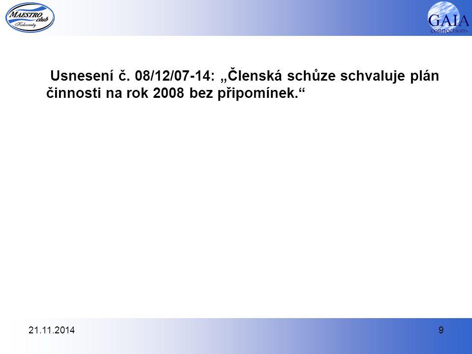 21.11.20149 Usnesení č.