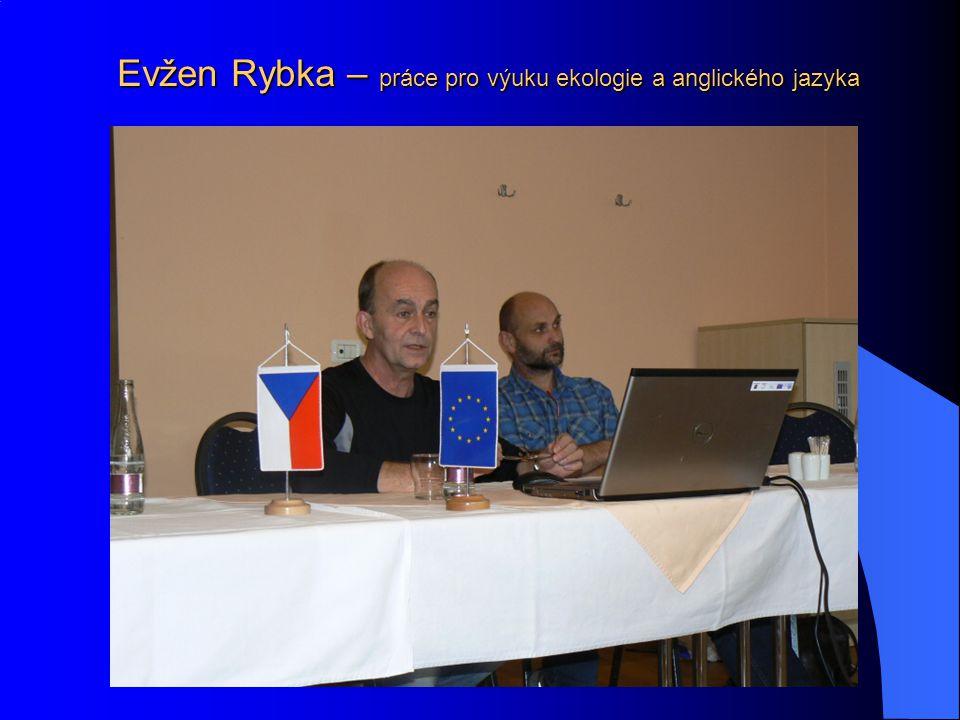 Evžen Rybka – práce pro výuku ekologie a anglického jazyka