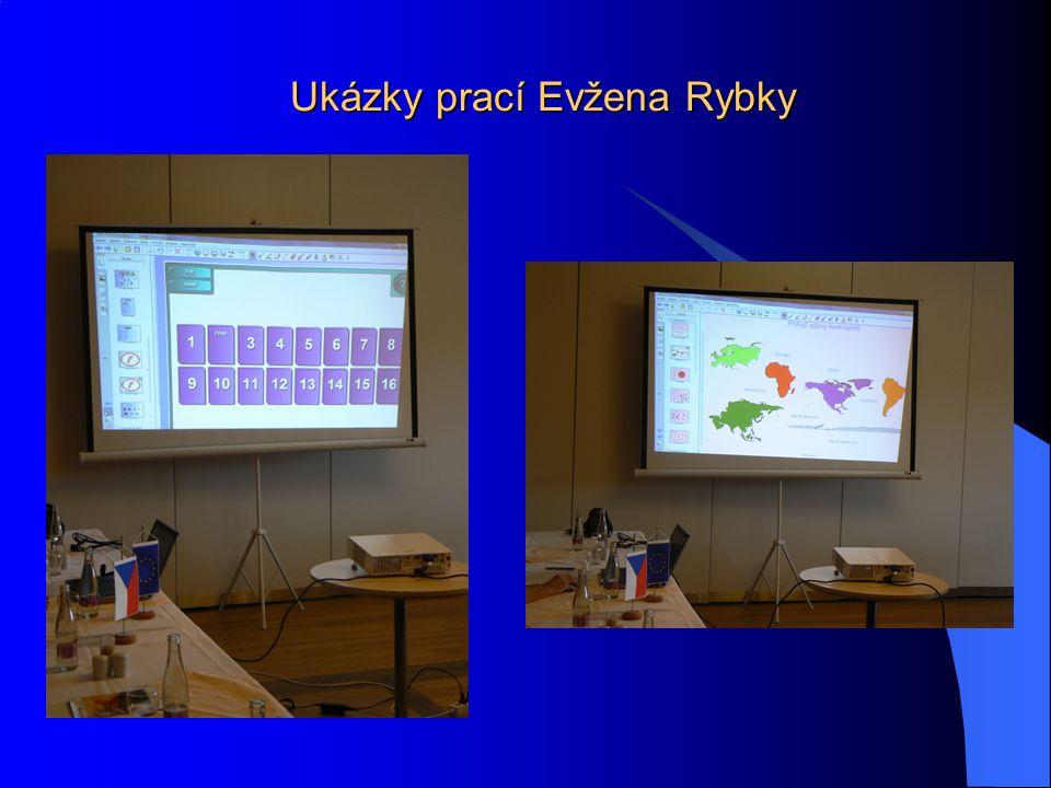Ukázky prací Evžena Rybky