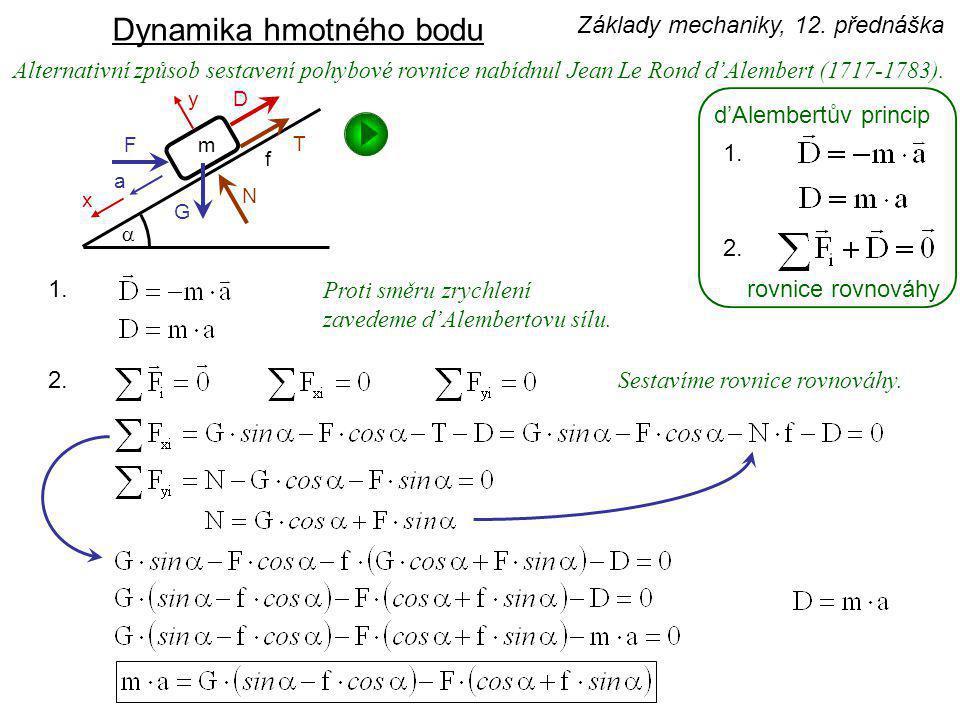 úloha 1.druhu - kinetostatickáúloha 2.