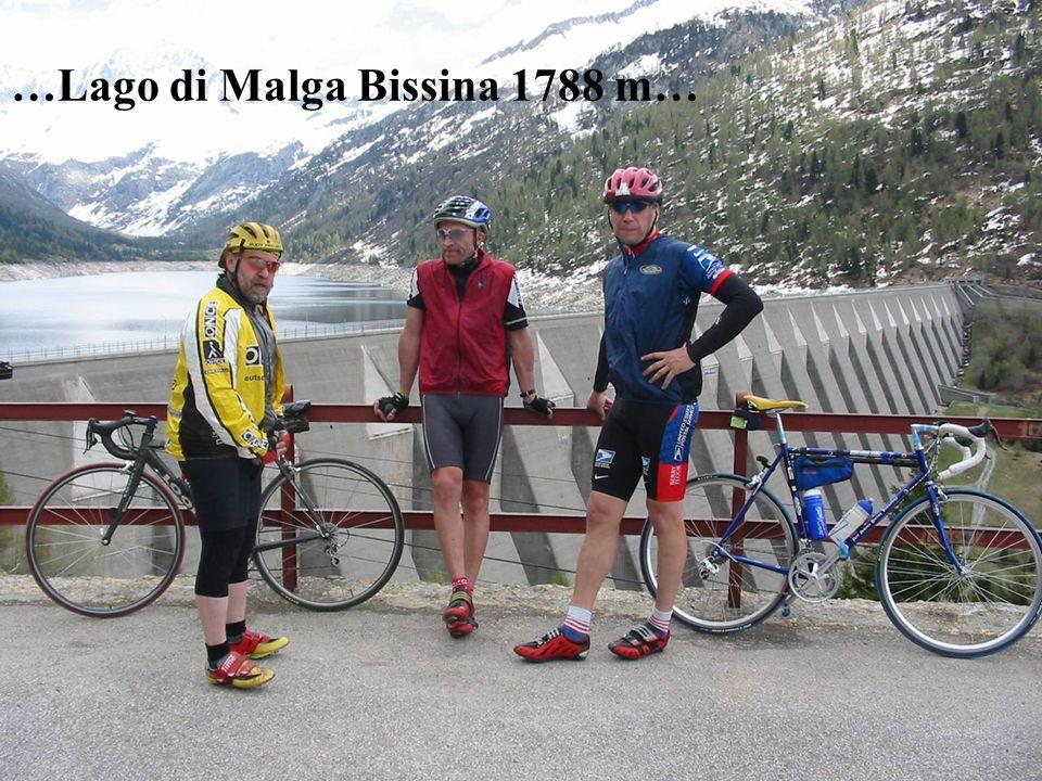 …Lago di Malga Bissina 1788 m…