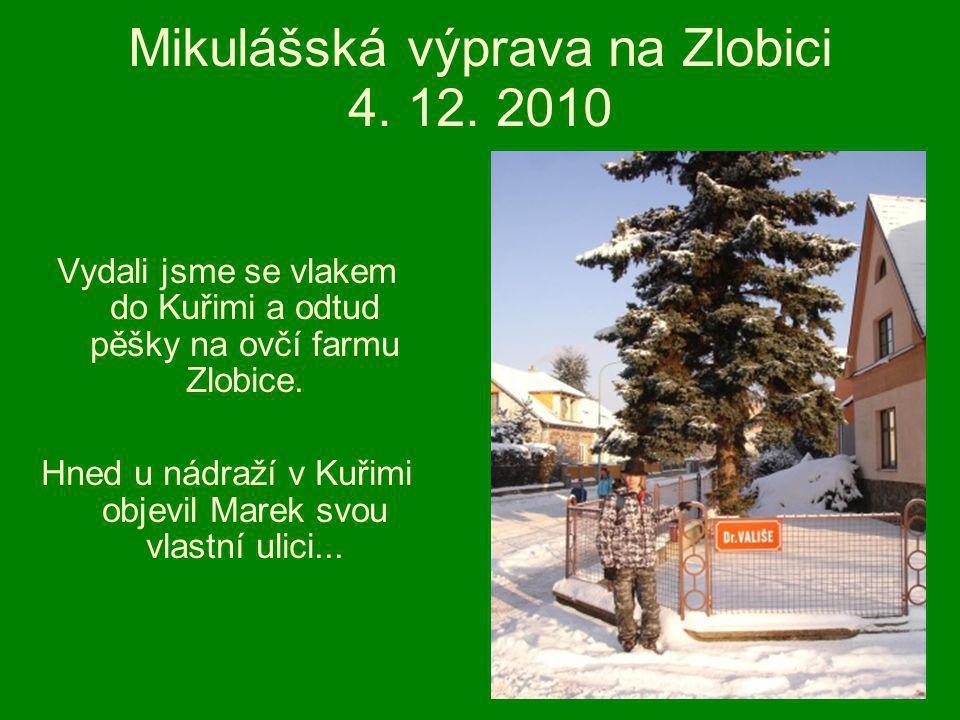 Mikulášská výprava na Zlobici 4. 12.