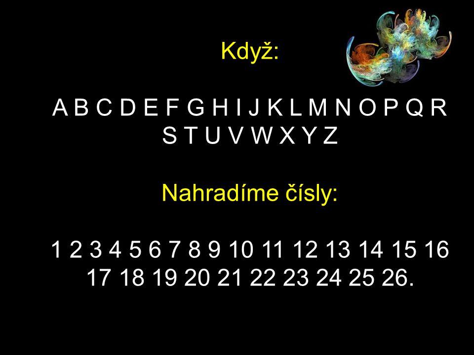 Zde je malá matematická formule, ktorá může pomoci odpovedět na tyto otázky: Prezentácia je preložená z angličtiny!
