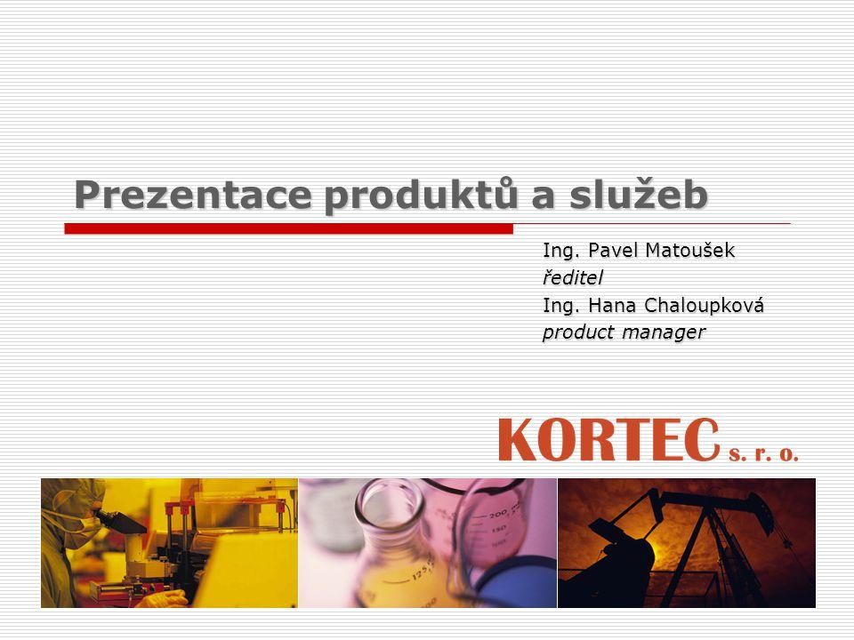 Prezentace produktů a služeb Ing. Pavel Matoušek ředitel Ing. Hana Chaloupková product manager