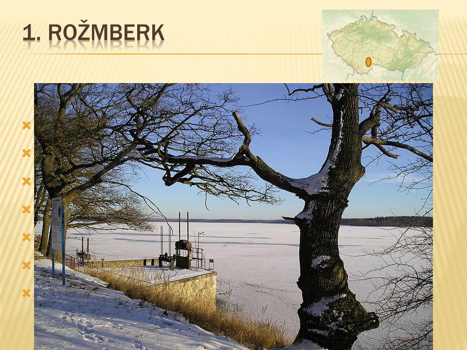 nachází se 6 km severně od centra Třeboně  navržen Jakubem Krčínem z Jelčan a Sedlčan  postaven v letech 1584 až 1590  rozloha vodní plochy 489 ha (647 ha)  délka hráze 2430 m  maximální hloubka 6,2 m  objem zadržené vody 6,2 m ³