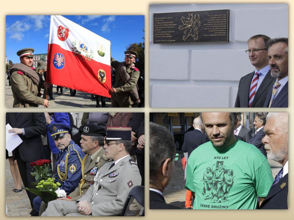 Dobrovolníci České družiny byly v převážné většině formálně stále rakousko- uherskými občany, nerespektující mobilizační pokyny, které jim rozeslalo r