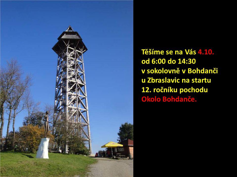 Těšíme se na Vás 4.10. od 6:00 do 14:30 v sokolovně v Bohdanči u Zbraslavic na startu 12.