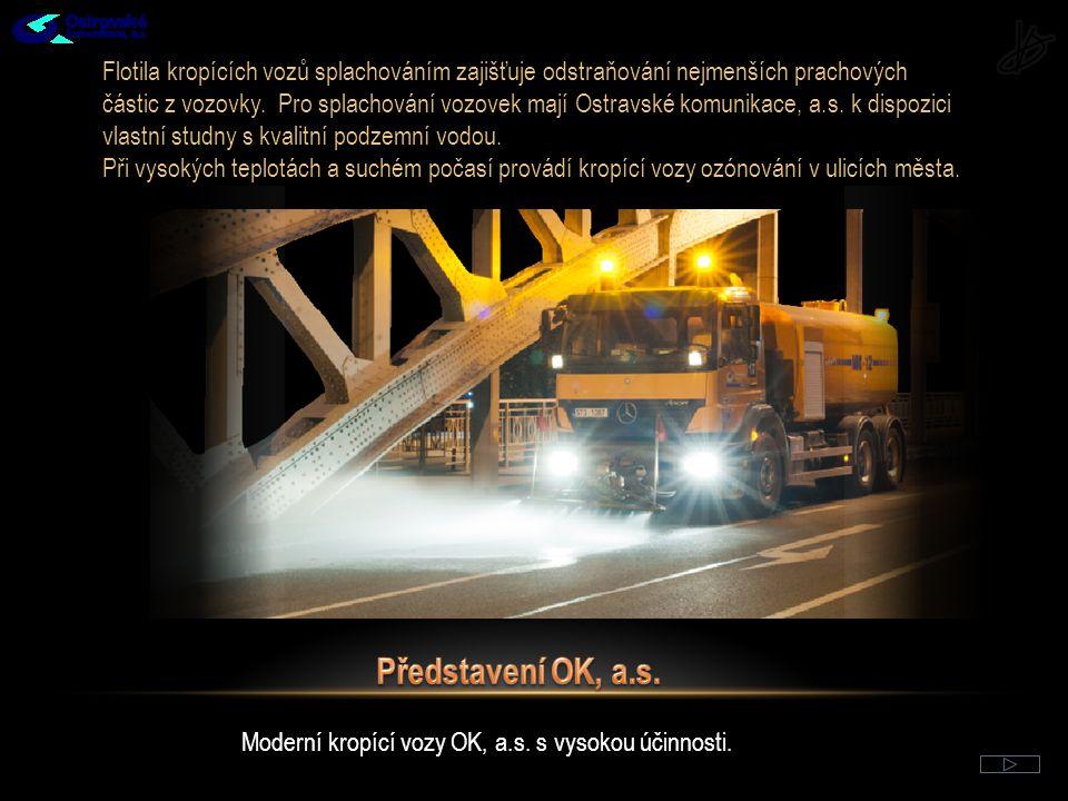 Obvody s nejvyšším prachovým zatížením a nejvyšší intenzitou čištění MK III.