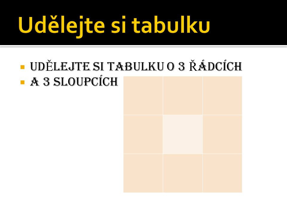 Vítejte v soutěži Bingo! www.IQtikve.wbs.cz