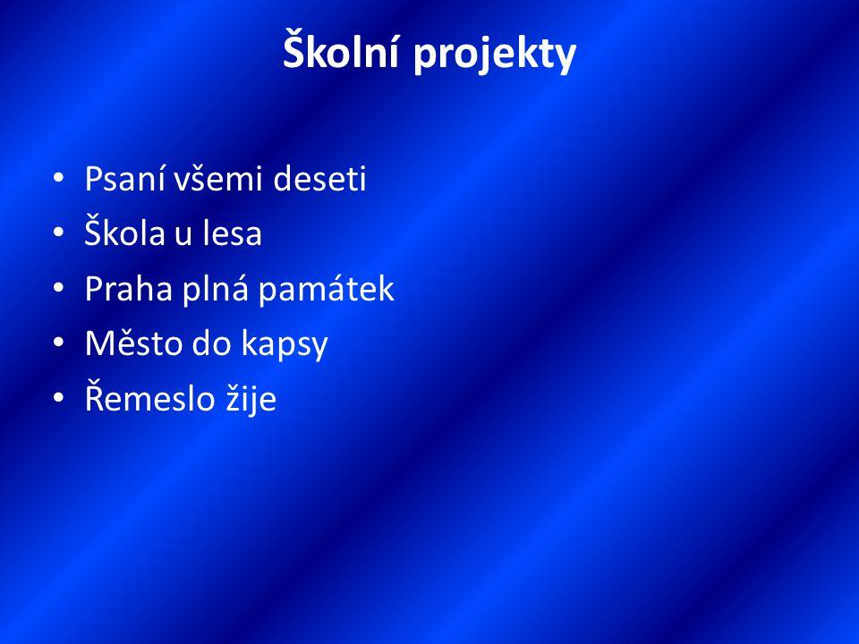 ZŠ U Krčského lesa Informace pro rodiče Školní rok 2011/2012